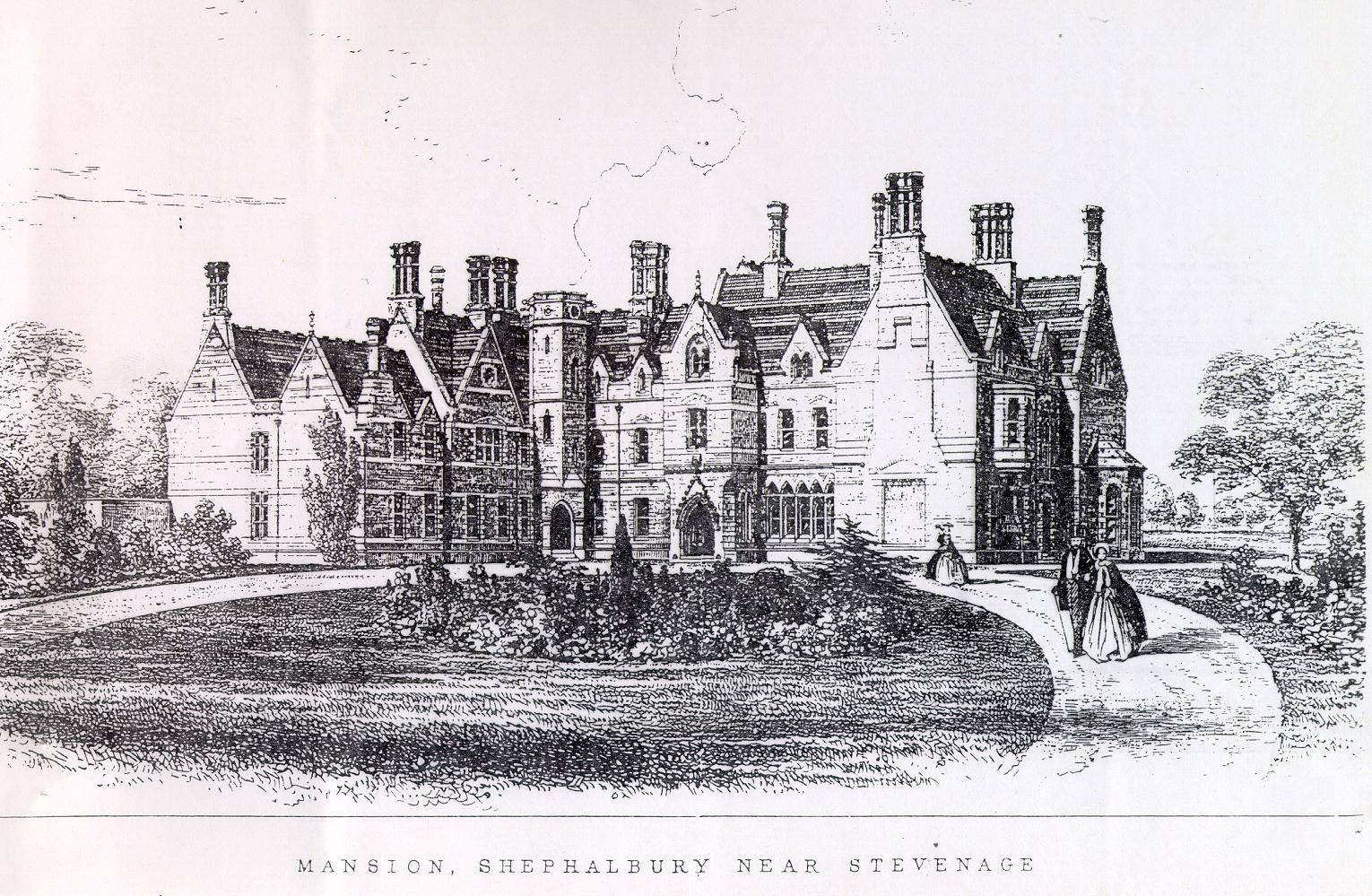 Gothic Mansion Drawing 93069